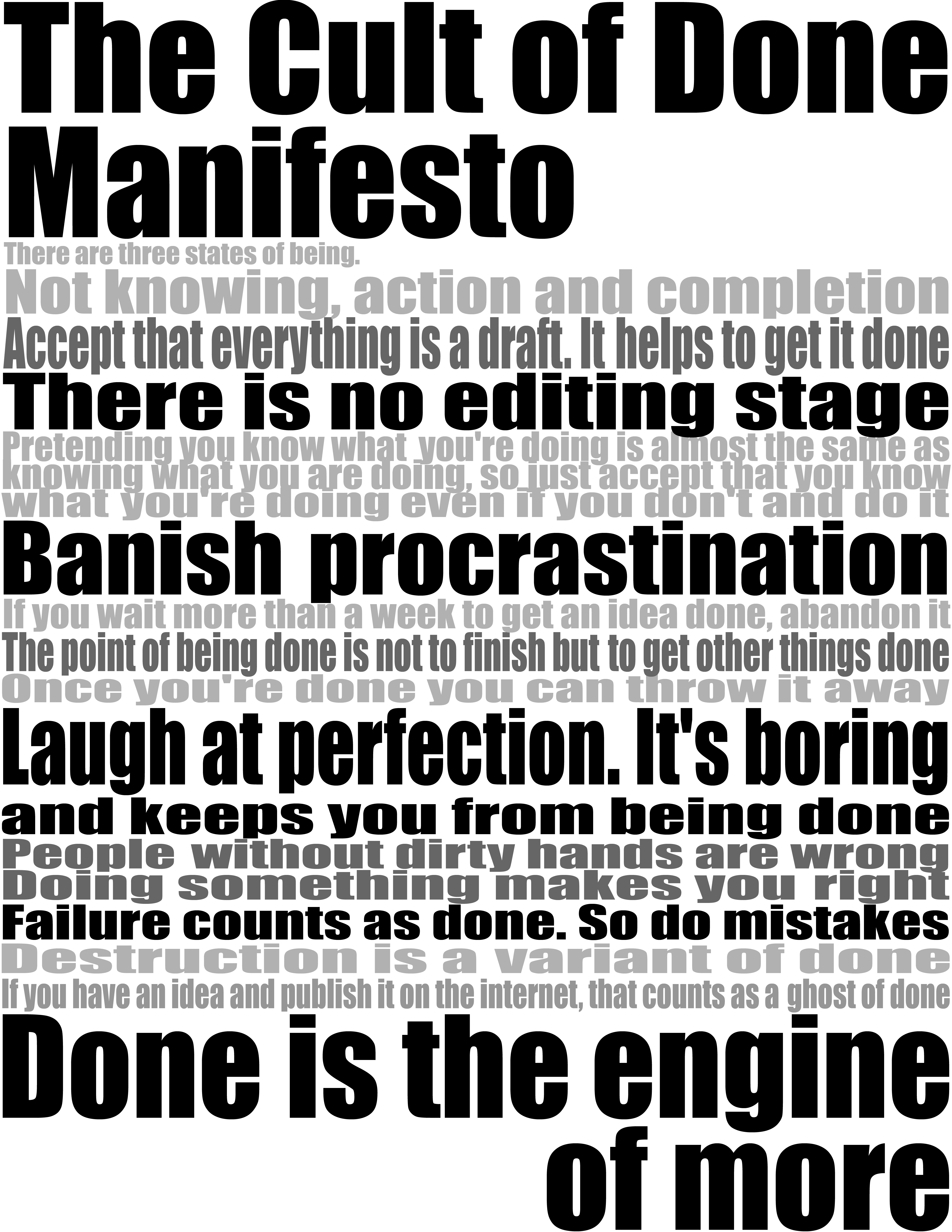 manifesto for i c t prefect The best relationship episodes of the art of manliness podcast so your manifesto isn't so much for you to show people, although, if you want to.