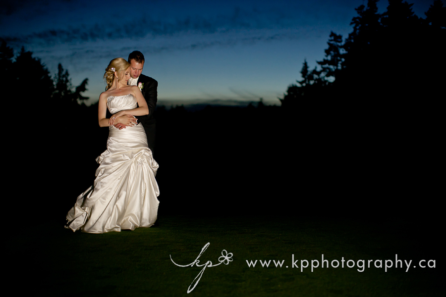 Olympic view golf wedding